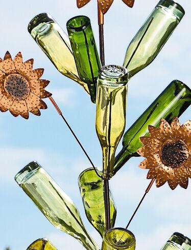 Bottle Tree Sunflowers, Set of 2