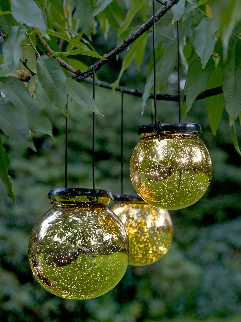 Battery Operated Globe Lights Led Fairy Dust Ball