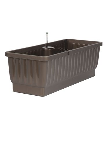 "23"" Self-Watering Windowbox, Bronze"