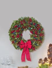 Preserved Cedar Wreath