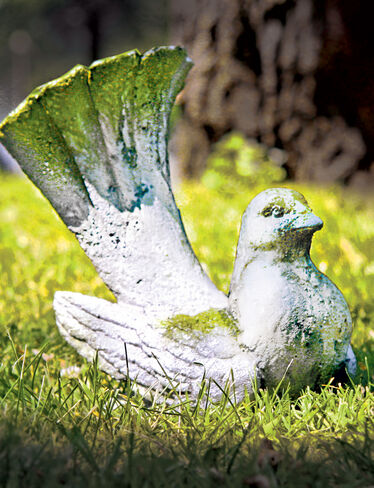 Decorative Dove Garden Sculpture