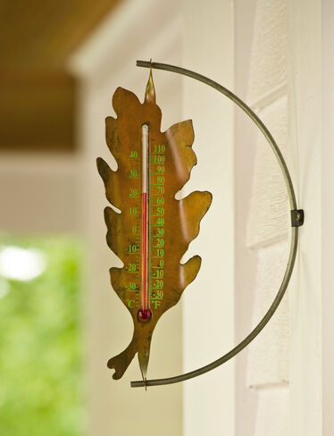 Oak Leaf Thermometer