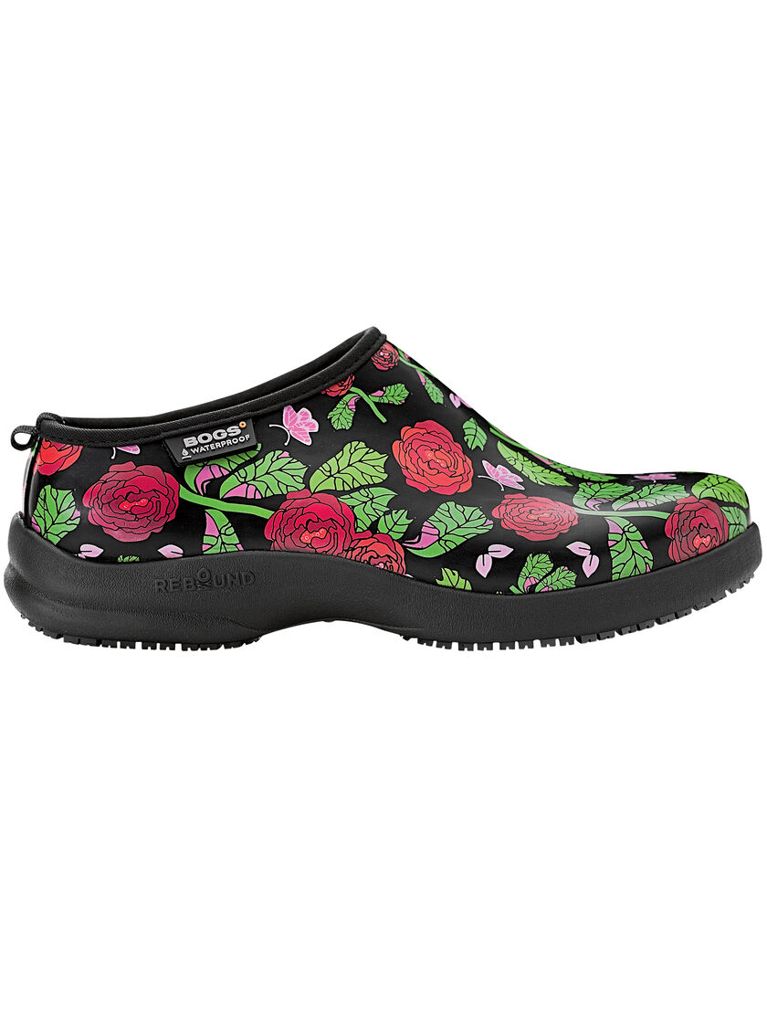 Garden Shoes Womens Oliver Rose Clogs by Bogs