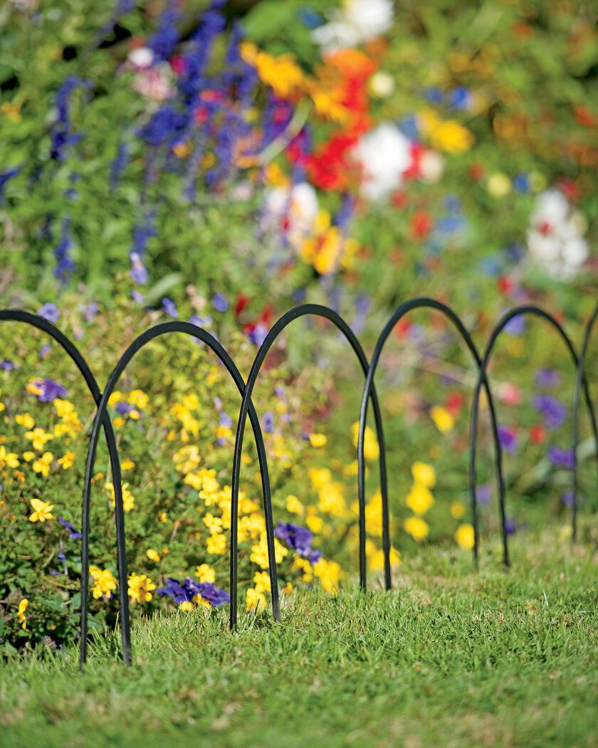 Garden Border Fence Stratford Edge Irons Set of 4 Garden Edging