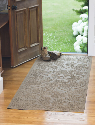 "Woodland Water Glutton Door Mat, 36"" x 84"""