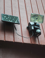 Motion Sensor Floodlight with Security Camera