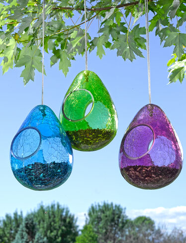 Moon Drop Birdfeeder
