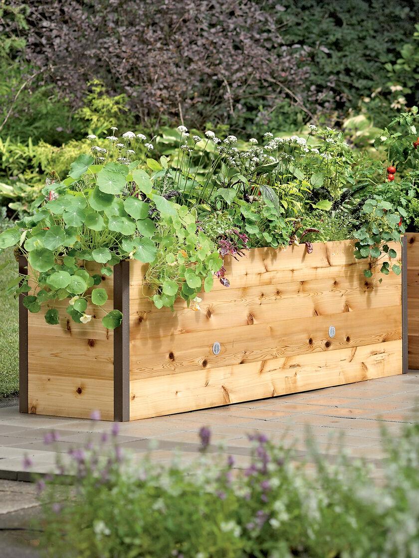 Gardens Raised: Elevated Cedar Raised Bed Kit, Elevated Bed
