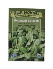 Regiment Spinach Organic Seeds