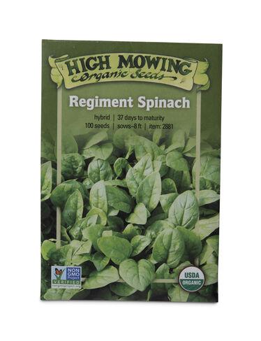 Regiment Spinach Organic Seeds