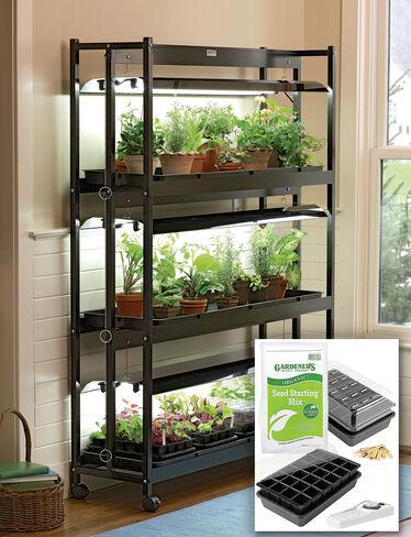 3-Tier Garden Starter® Grow Light Kit