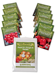 Plant It and Forget It Vegetable Garden Organic Seeds, Set of 11