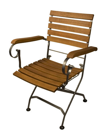 Galleria Folding Armchairs, Set of 2