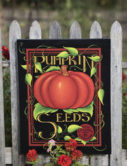 Pumpkin Seeds Outdoor Wall Art