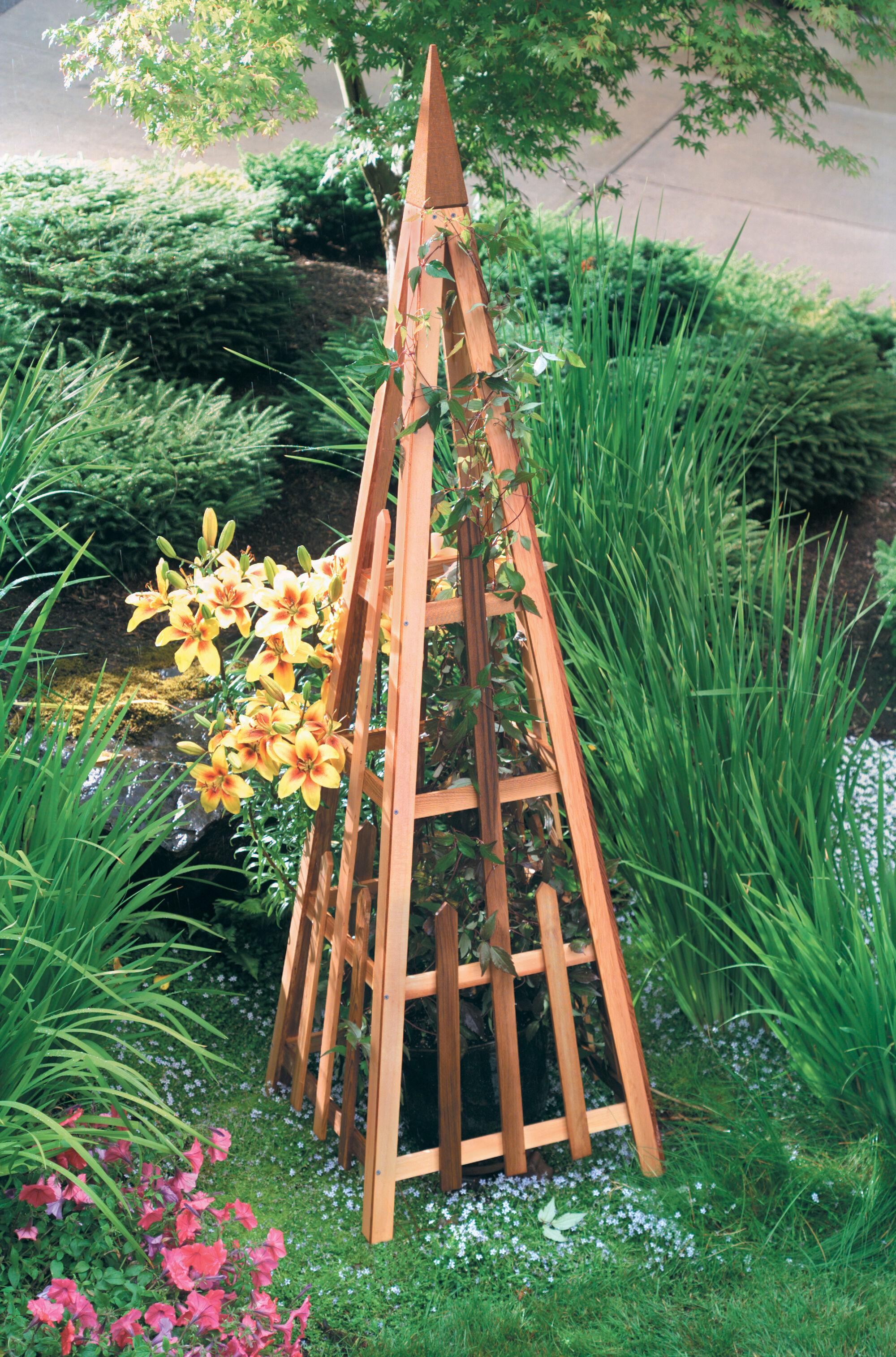 Pyramid Trellis Plant Supports, Garden Trellis, Garden Supplies, Organic  Garden Supplies, Vegetable