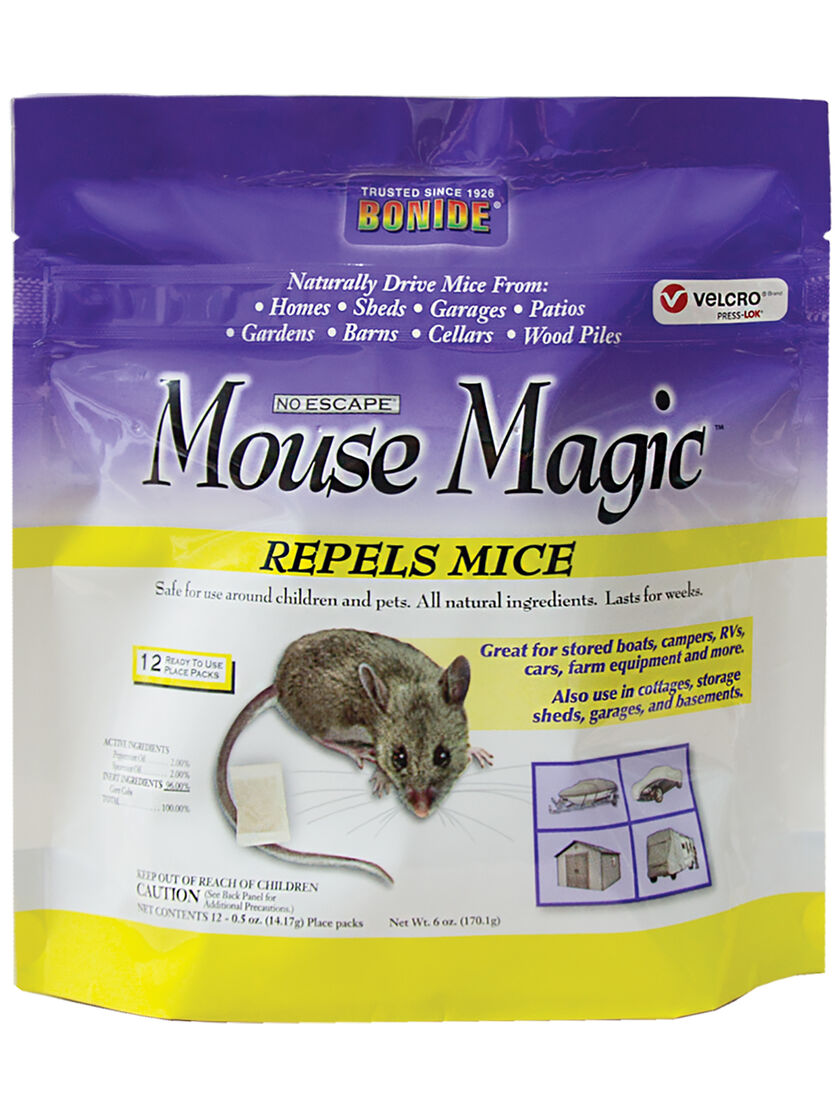 Mouse Magic Natural Mouse Repellent Reviews