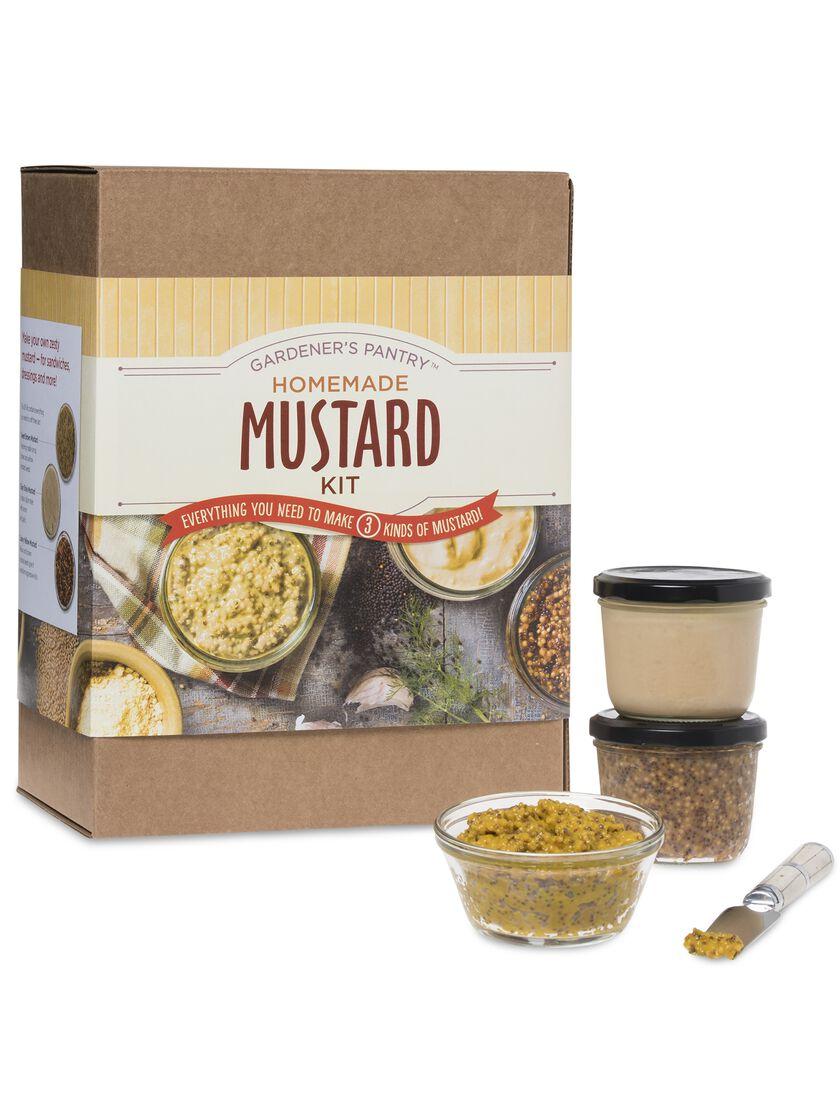 how to make homemade mustard