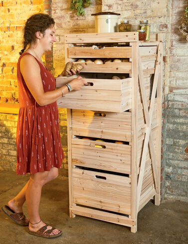 Deep Drawer Harvest Storage Rack from Gardener's Supply