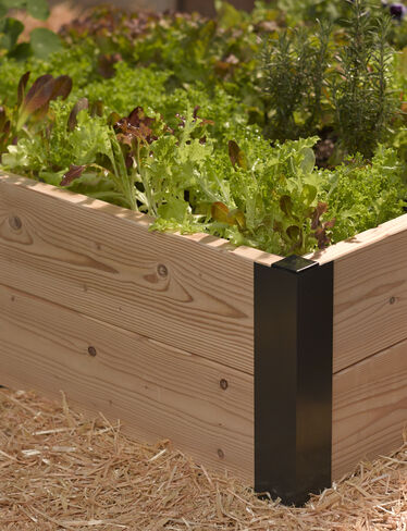 "6"" Raised Bed Corners, Set of 2"