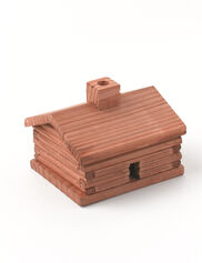 Log Cabin Balsam Incense Burner