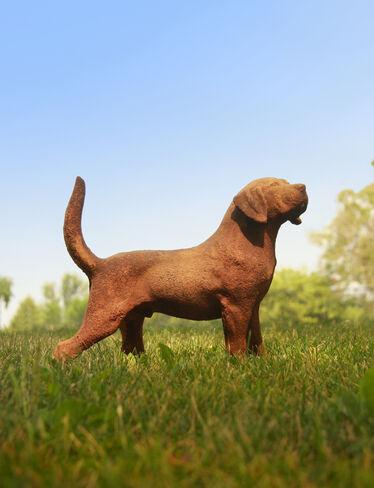 Hound Dog Statue