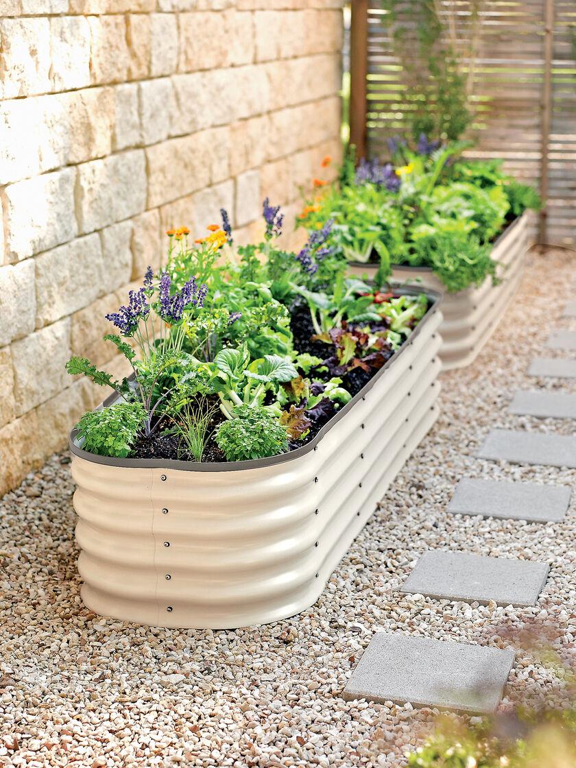Modular Raised Bed Zincalume Steel Gardeners Supply