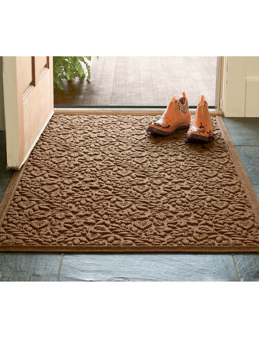 "Fall Leaves Water Glutton Doormat, 32"" x 57"""