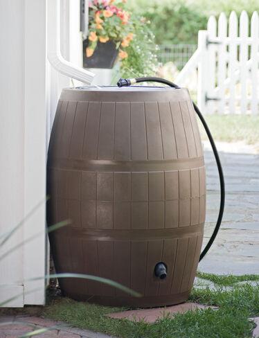 Deluxe Rain Barrel, Green