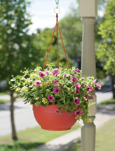 Hanging Baskets for Plants and Flowers, Self Watering  Gardeners.com