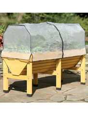 *VegTrug Patio Garden with Greenhouse Cover and Frame
