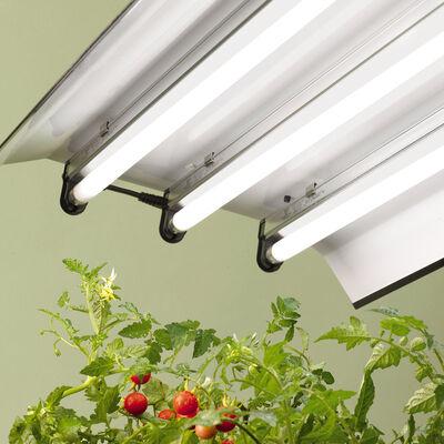 High Intensity Grow Light Fixture With Three T5 Bulbs