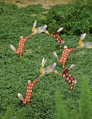 Calico Bunnies Stake