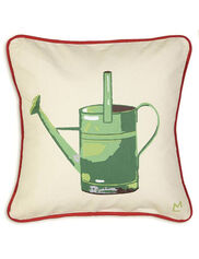 """Watering Can Throw Pillow, 18"""""""