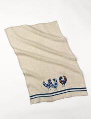 Linen Kitchen Towel, Chicken