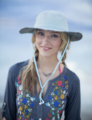 Lotus Garden Hat