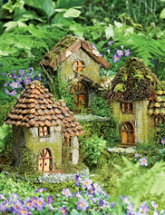 Fairy Houses, Set of 3