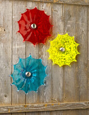 "Viz Glass Fence Flower, 9"""
