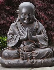 Seated Buddha Garden Statue
