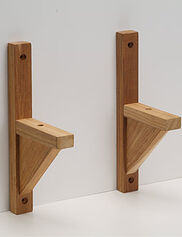 Teak Windowbox Brackets