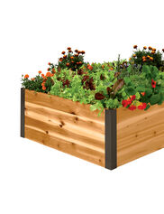 Deep Root Cedar Raised Beds, 3' Wide