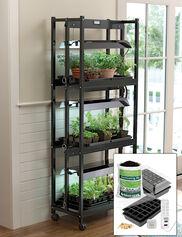 Compact 3-Tier SunLite® Garden Jump Start Kit