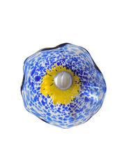 "Viz Glass Fence Flower, 5"""