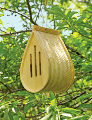 Woven Bamboo Butterfly House