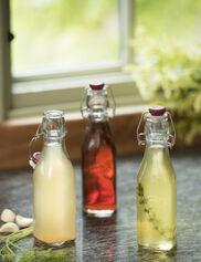 Clip-Top Preserve Bottles, 9 oz.