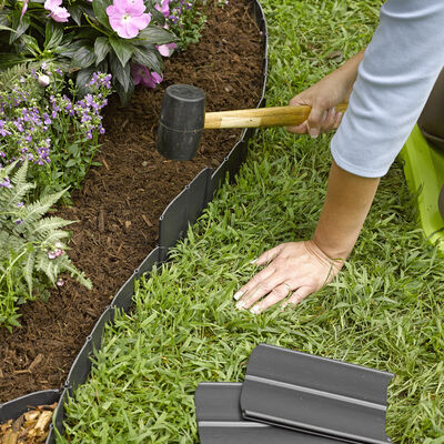 Pound In Landscape Edging Plastic Lawn Edging