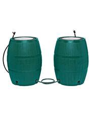 Two 4-Port Rain Barrels plus Linking Kit