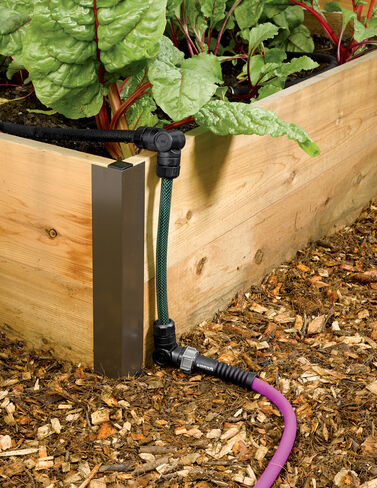 Raised Bed Snip-n-Drip Soaker System Raised Bed, Raised Garden Bed, Garden Bed, Raised Garden, Container Gardening, Garden Containers