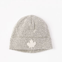 Roots - Snowy Fox Cuff Toque
