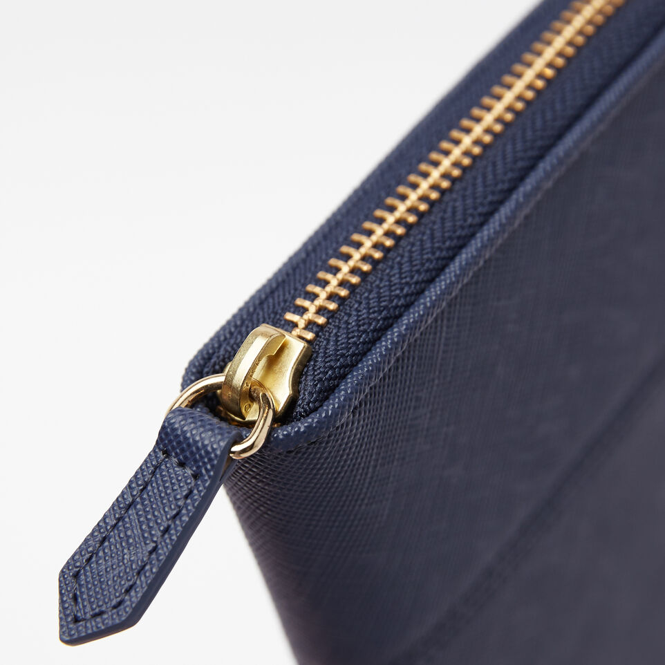 Roots-undefined-Open Flat Wallet Saffiano-undefined-F