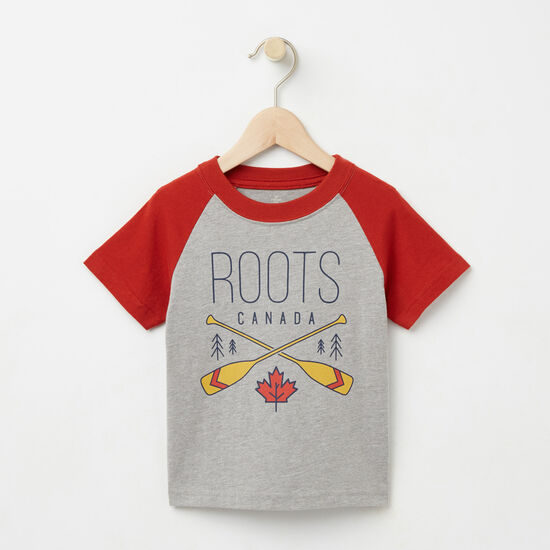 Roots-Kids Toddler Mix & Match 2 For $28-Toddler Hunter Raglan Top-Grey Mix-A
